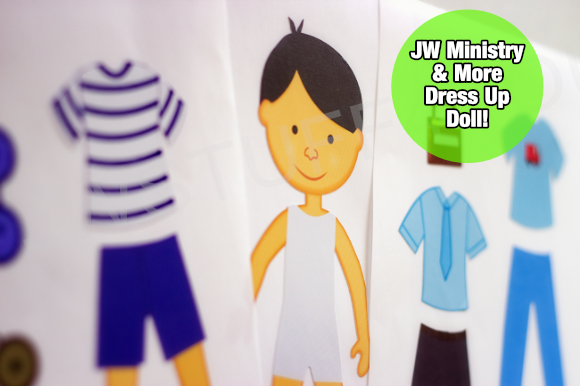 Boys - Dress Up Doll Stickers