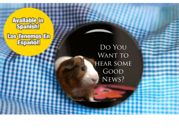Do You Want To Hear Some Good News? Informal Witnessing Button