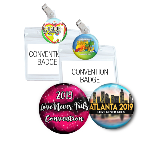 2018 Love Never Fails Regional Convention Love Never Fails International Convention, El Amor Nunca Falla themed gifts